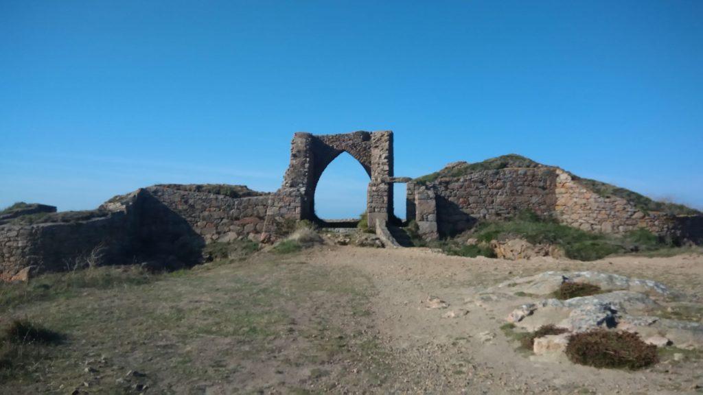 Grosnez Castle a Jersey